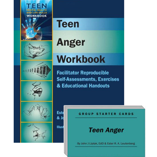 Teen Anger Set (Workbook & Group Starter Cards)