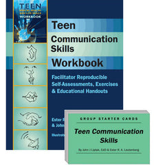Teen Communication Skills Set (Workbook & Group Starter Cards)