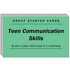 Teen Communication Skills - Group Starter Cards
