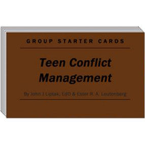 Teen Conflict Management - Group Starter Cards
