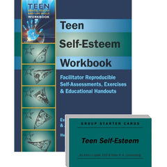 Teen Self-Esteem Set (Workbook & Group Starter Cards)