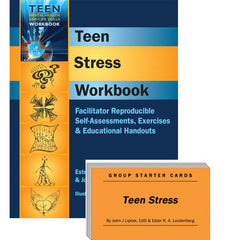 Teen Stress Set (Workbook & Group Starter Cards)