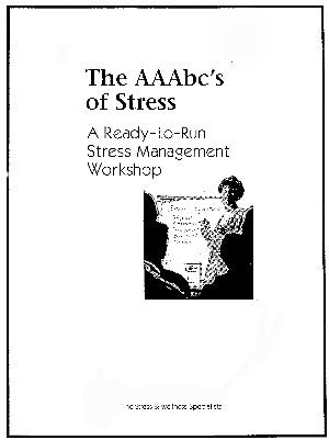 Stress Management Workshop (3 Hour Workshop)