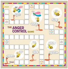 The Anger Control Game (Includes Inventory)