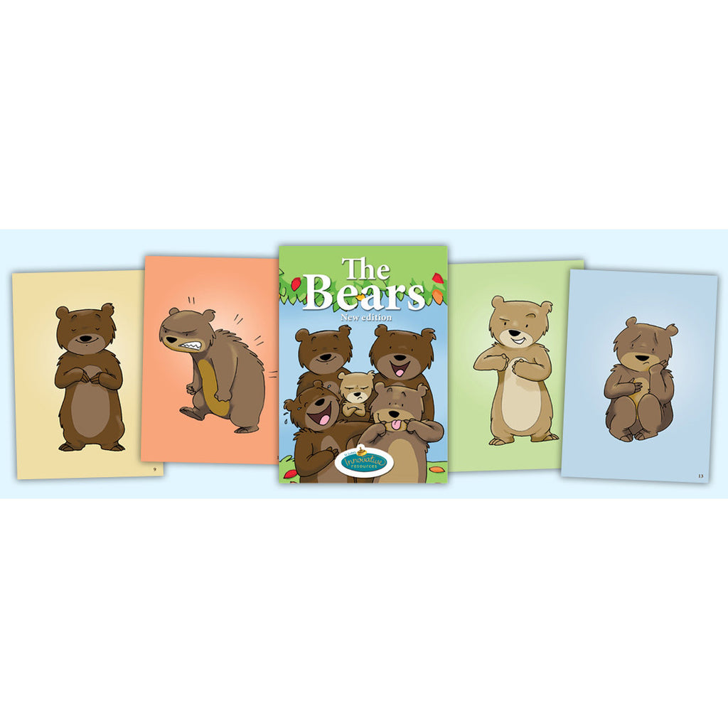 'The Bears' Feelings & Emotional Literacy Cards - New Edition