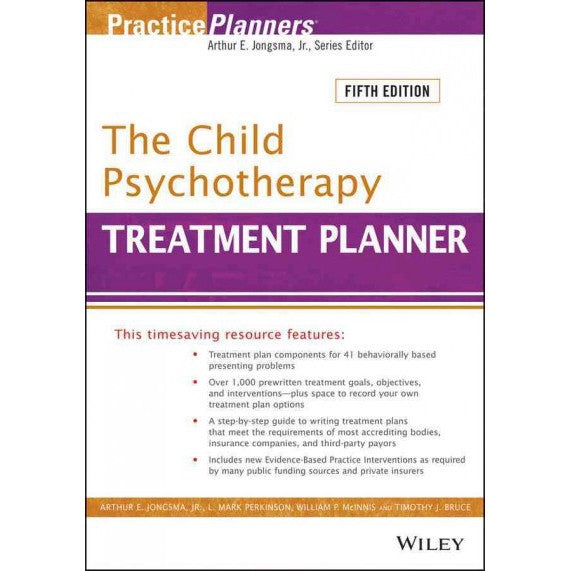 The Child Psychotherapy Treatment Planner, 5th Edition
