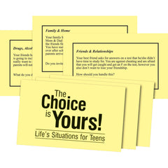 The Choice is Yours! Activity Cards