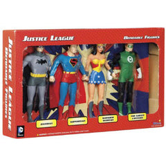 The Justice League Box Set (4 Bendable & Poseable Figures)