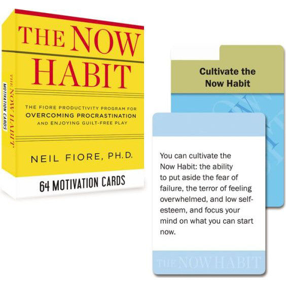The NOW HABIT Motivation Cards