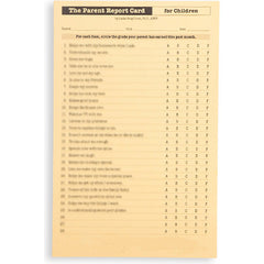 The Parent Report Card - For Children (Pack of 20)