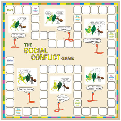 The Social Conflict Game (Includes Inventory)
