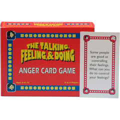 The Talking, Feeling, & Doing ANGER Card Game (Original Version)