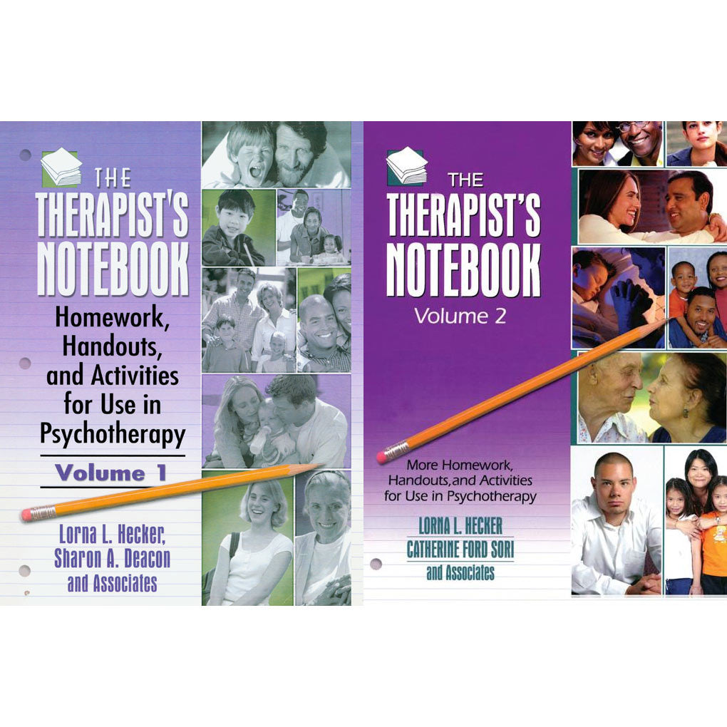 The Therapist's Notebook - Two Volume Set (Vol. 1 & 2)