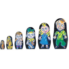 Therapeutic Nesting Doll Family