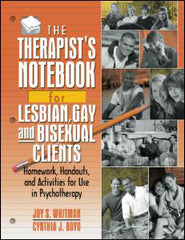 The Therapist's Notebook for Lesbian, Gay and Bisexual Clients