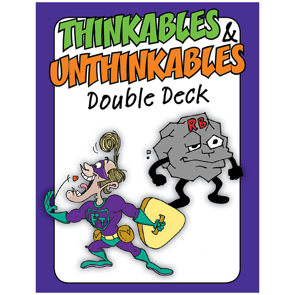 The Thinkables & Unthinkables Double Deck