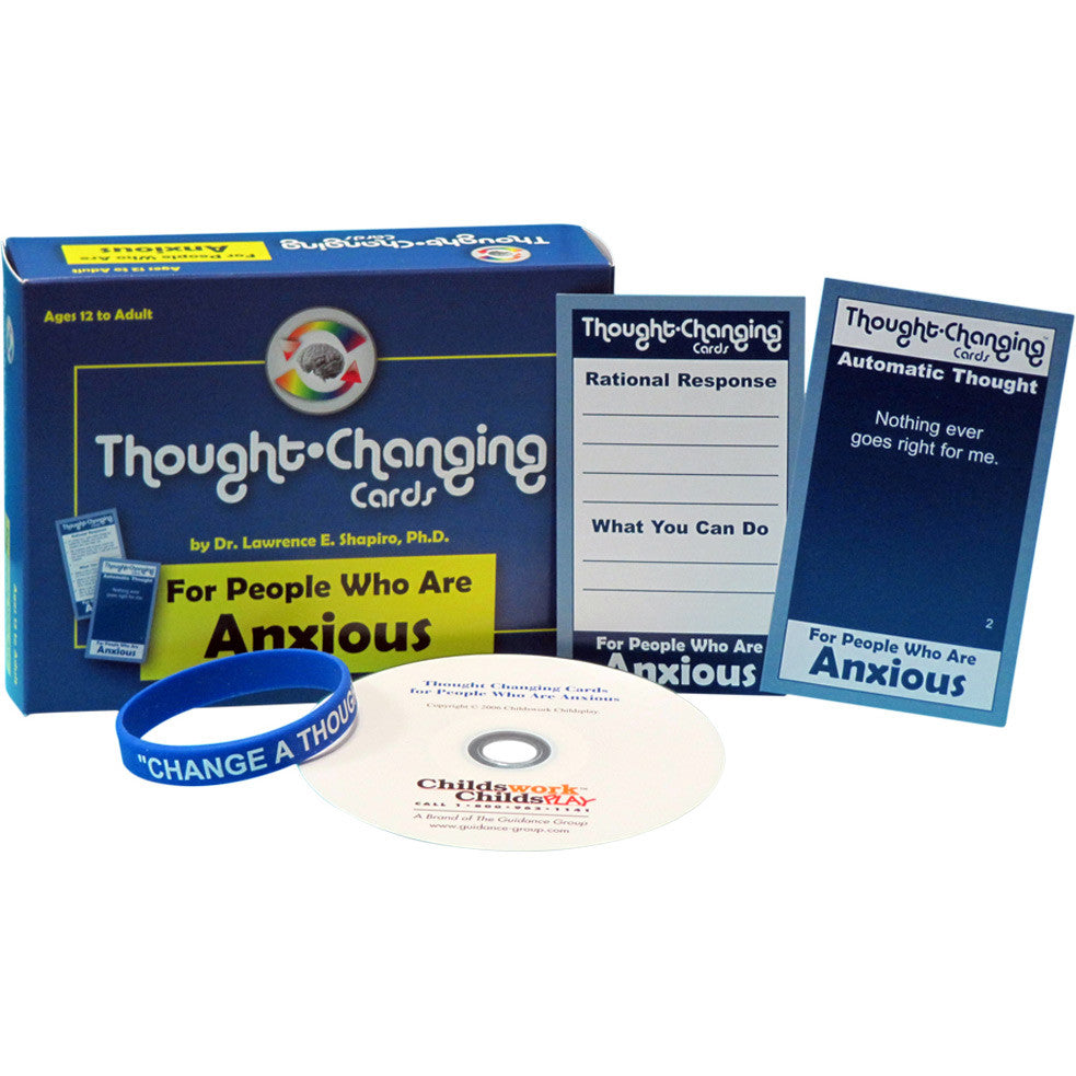 Thought-Changing Card Kit - For People Who Are Anxious