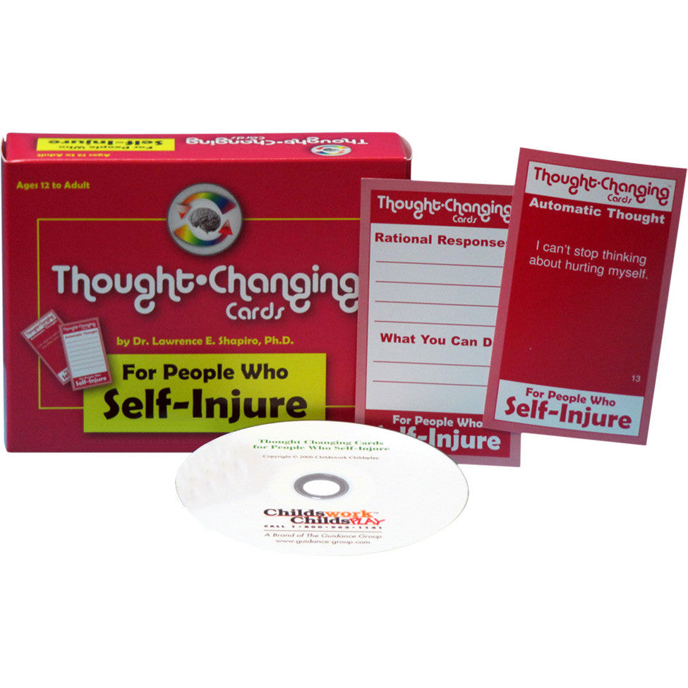 Thought-Changing Card Kit - For People Who Self-Injure
