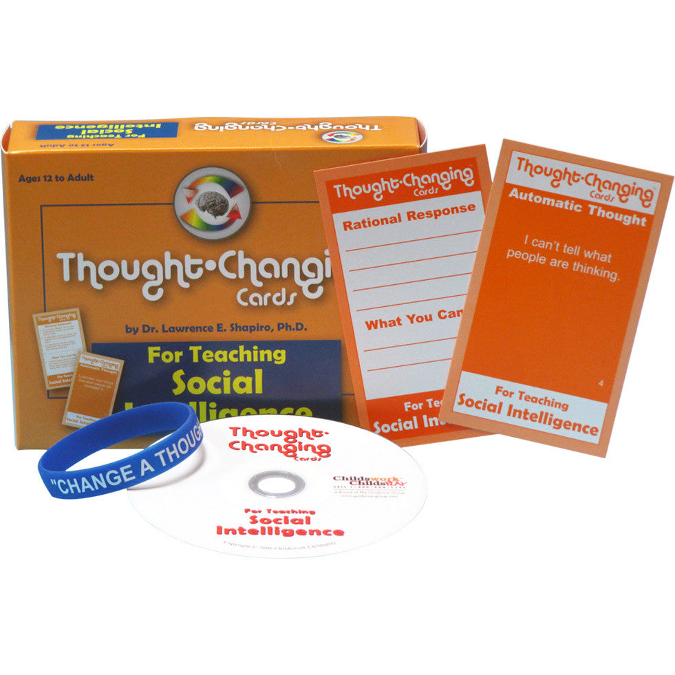Thought-Changing Card Kit - For Teaching Social Intelligence