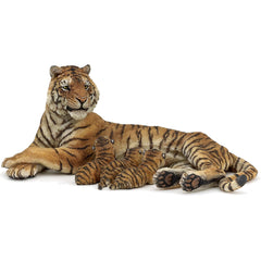 Tigress Nursing 3 Cubs (2 Piece Set)
