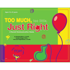 Too Much, Too Little, Just Right Game