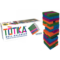 The TOTIKA Game (with Self-Esteem Question Deck)
