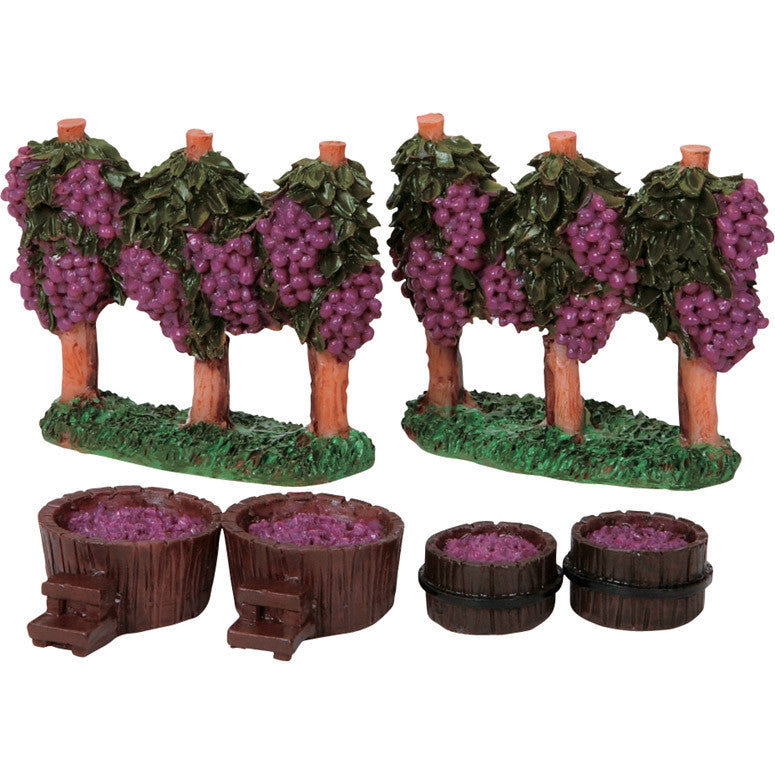Miniature - Grape Vineyard