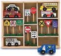 Wooden Community Vehicles & Traffic Signs