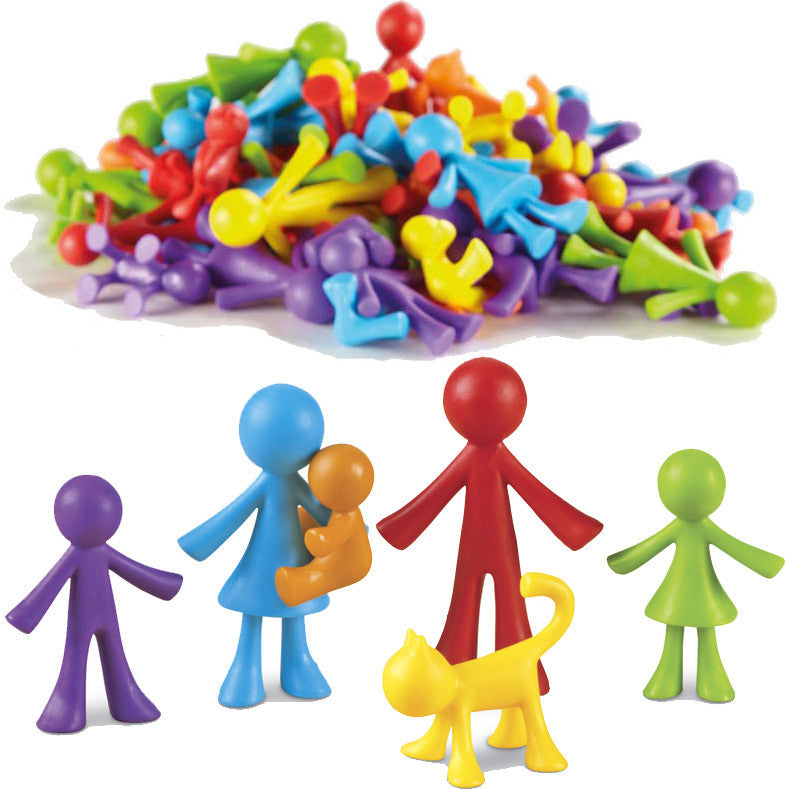 "Versatile ""Family"" Figures (36-Pieces)"