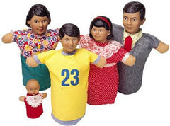Vinyl-Head Family Puppets (Hispanic)
