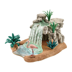 Waterfall Playset with Hidden Grotto