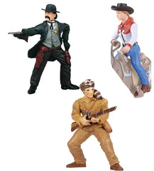 Miniature - Western Set (3-Pieces)