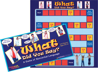 What Did You Say? Board Game