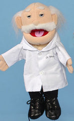 Caucasian Doctor Puppet (Movable Mouth)