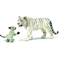 Miniature - White Tiger Family (2-Piece Set)