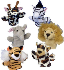 Wild Animal Finger Puppet Set (12 Puppets)