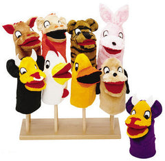 Wooden Puppet Stand