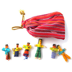 "1"" Worry Dolls (1 Pouch - 6 Dolls)"