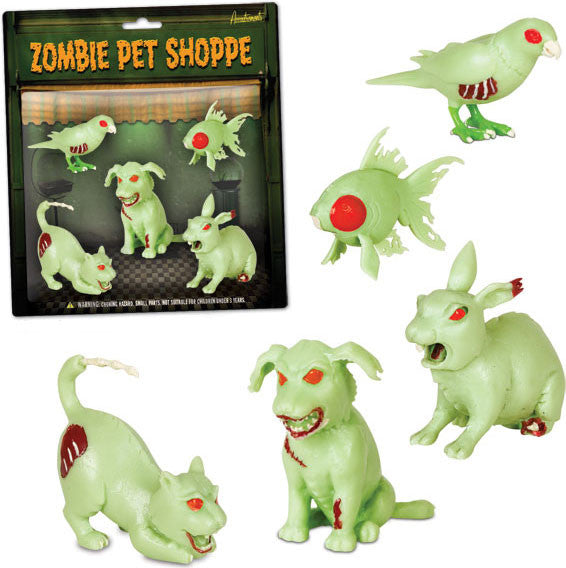 Miniature - Zombie Pet Set