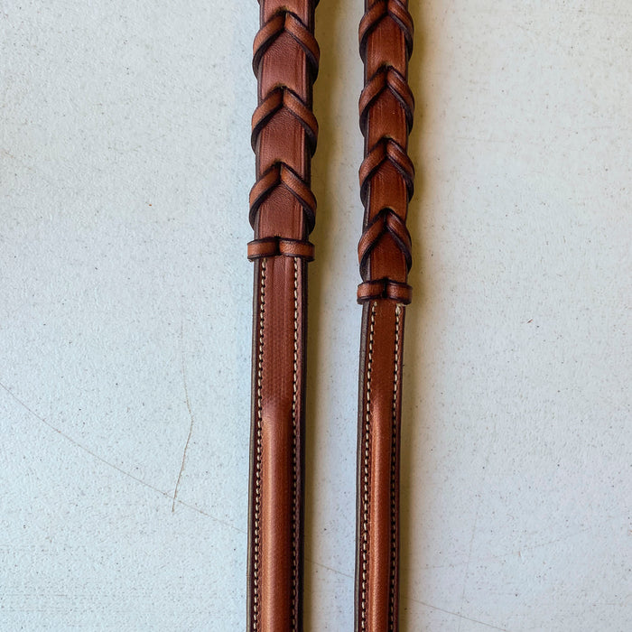Edgewood  Fancy-Stitched Raised Laced Reins