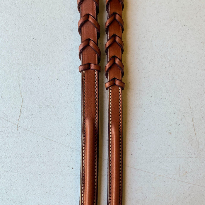 Edgewood Raised Laced Reins