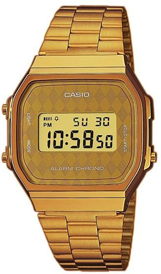 Image of   CASIO A168WG-9B Unisex