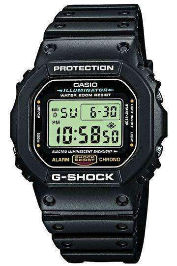 Ure - CASIO G-SHOCK Mod. DW-5600E-1V Multifunction, Alarm, Stopwatch, Countdown Timer, WR 200mt  **ORIGINAL BOX**