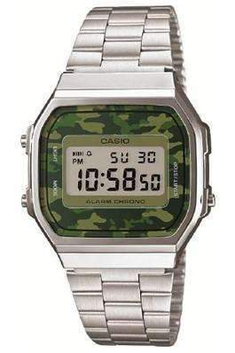 Image of   CASIO Vintage Camouflage A168WEC-3 Herreur