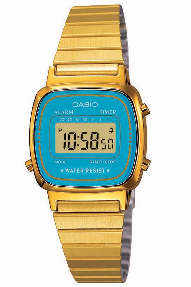 Image of   CASIO Vintage LA-670WGA-2 Dameur