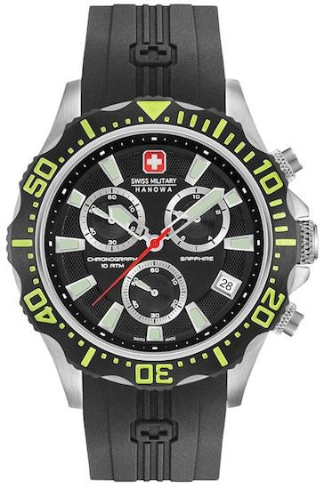 Image of   Swiss Military Hanowa Patrol Chrono 06-4305.04.007.06 Herreur