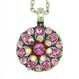 Mariana Guardian Angel Crystal Pendant Necklace 209 Indian Pink