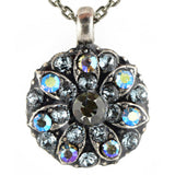 Mariana Guardian Angel Crystal Pendant Necklace 215-3 Blue Green Crystal