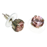 Mariana Handmade Swarovski Crystal Earrings 8mm Stud Post Variety of Colors - ILoveThatGift