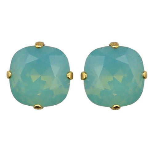 La Vie Parisienne Catherine Popesco Swarovski Gold Stud Earrings 6556PG - ILoveThatGift